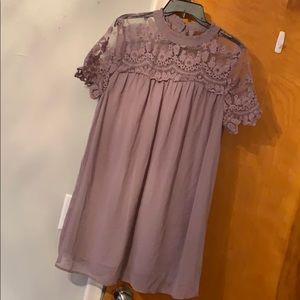 Pink Blush Dress - lavender color
